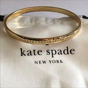 NEW! Kate Spade crystal accent bangle